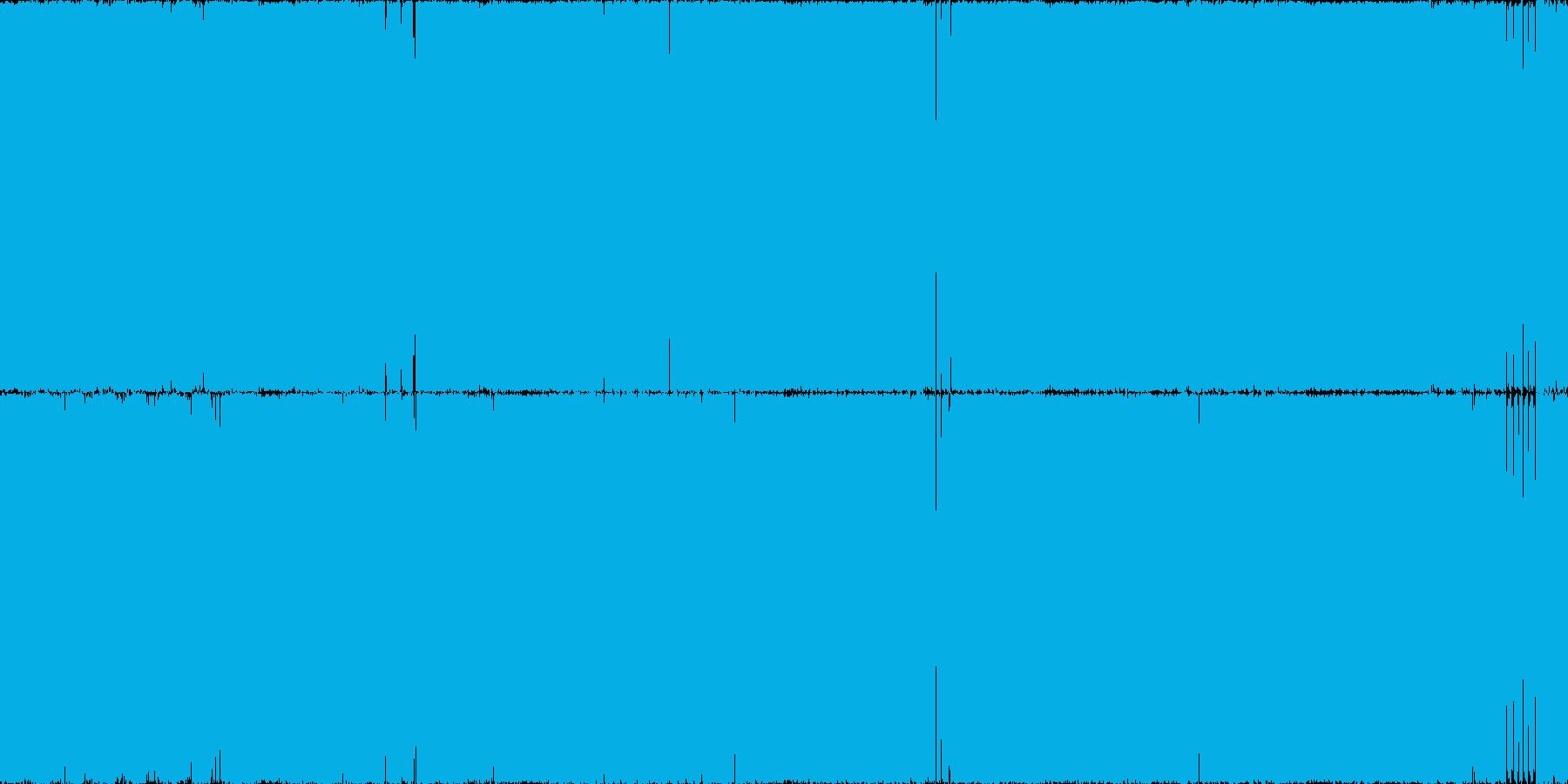 攻撃的ハードコアテクノ・ガバ・ループ◯の再生済みの波形