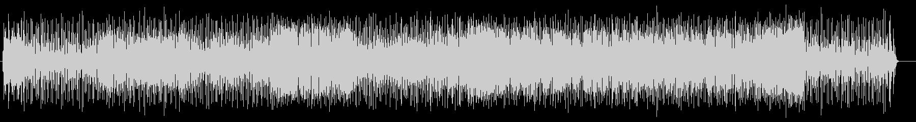 ゲームBGMコミカル電子音サウンドの未再生の波形