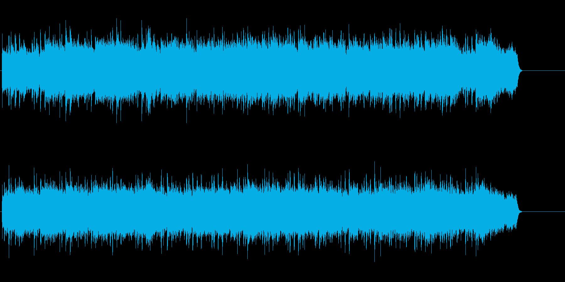 雪・クリスマスを意識したメルヘンなBGMの再生済みの波形