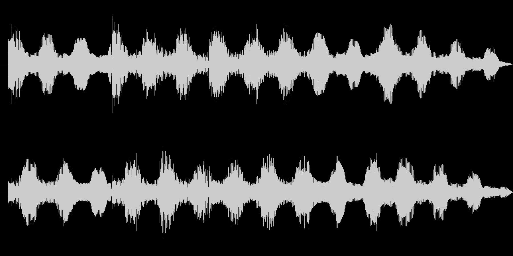 エレピ10sサウンドの未再生の波形