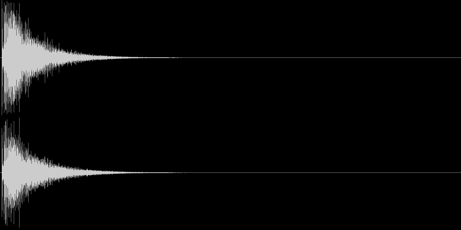 ビブラスラップ (カーッ)の未再生の波形