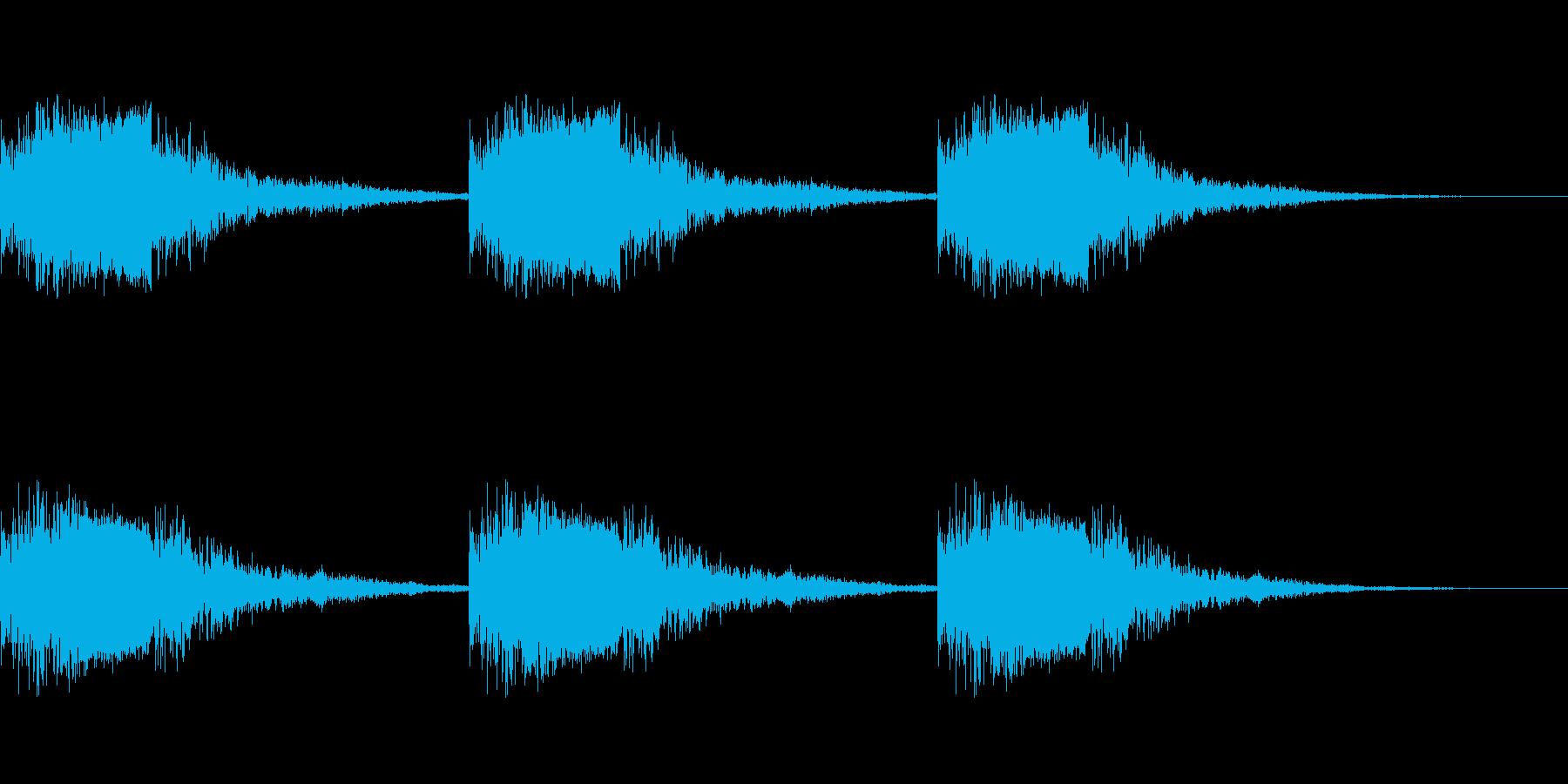 サイレン・警報3の再生済みの波形