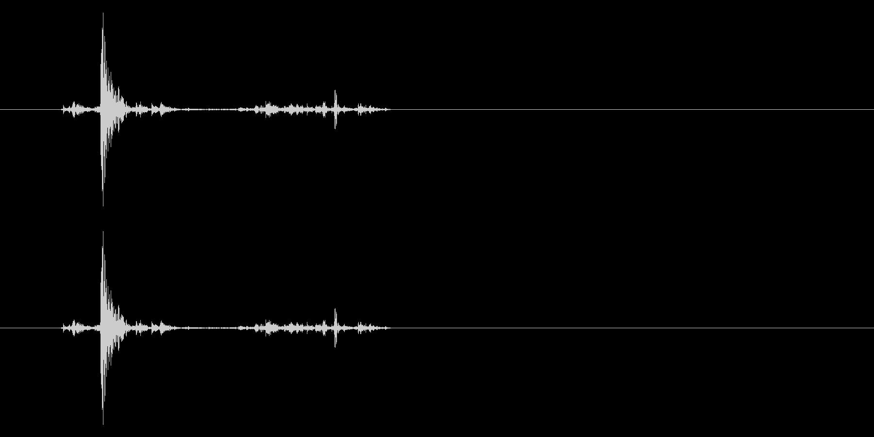 ポッチャン!池ポチャの音3の未再生の波形
