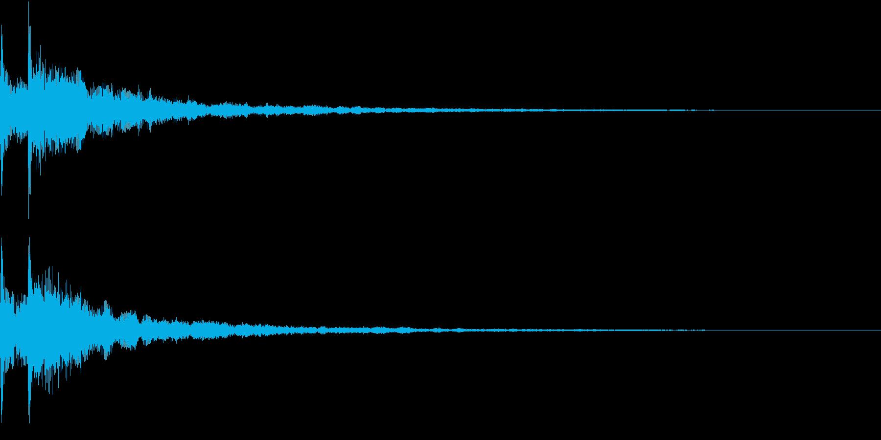 Game ガチャ・ノーマルレア獲得SEの再生済みの波形