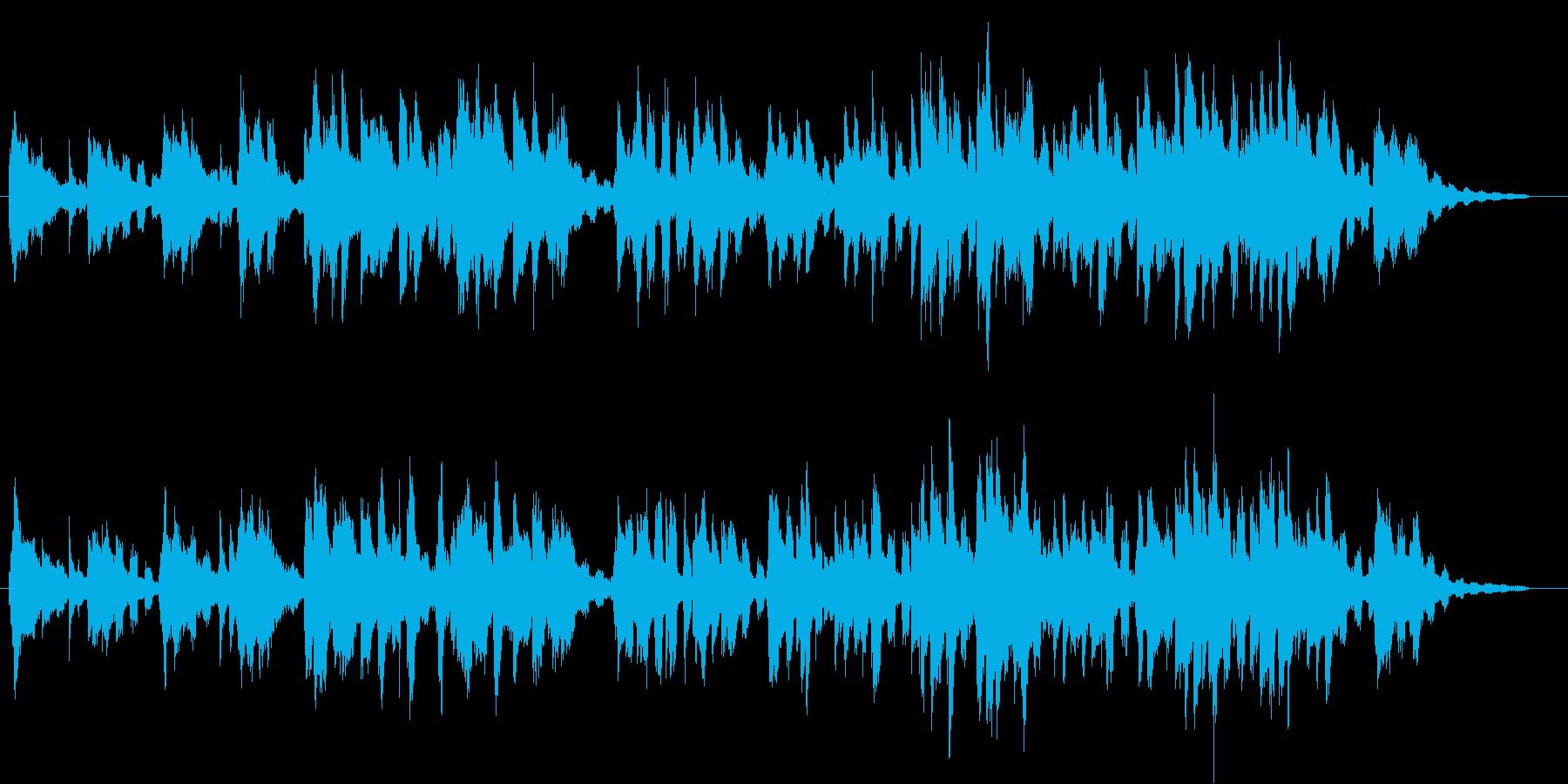 ピアノ、ギターなどによるR&B的なモチ…の再生済みの波形