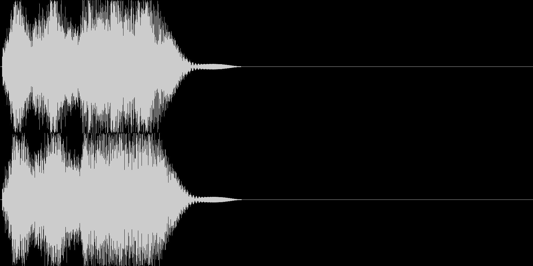 機械音01_シンセの未再生の波形