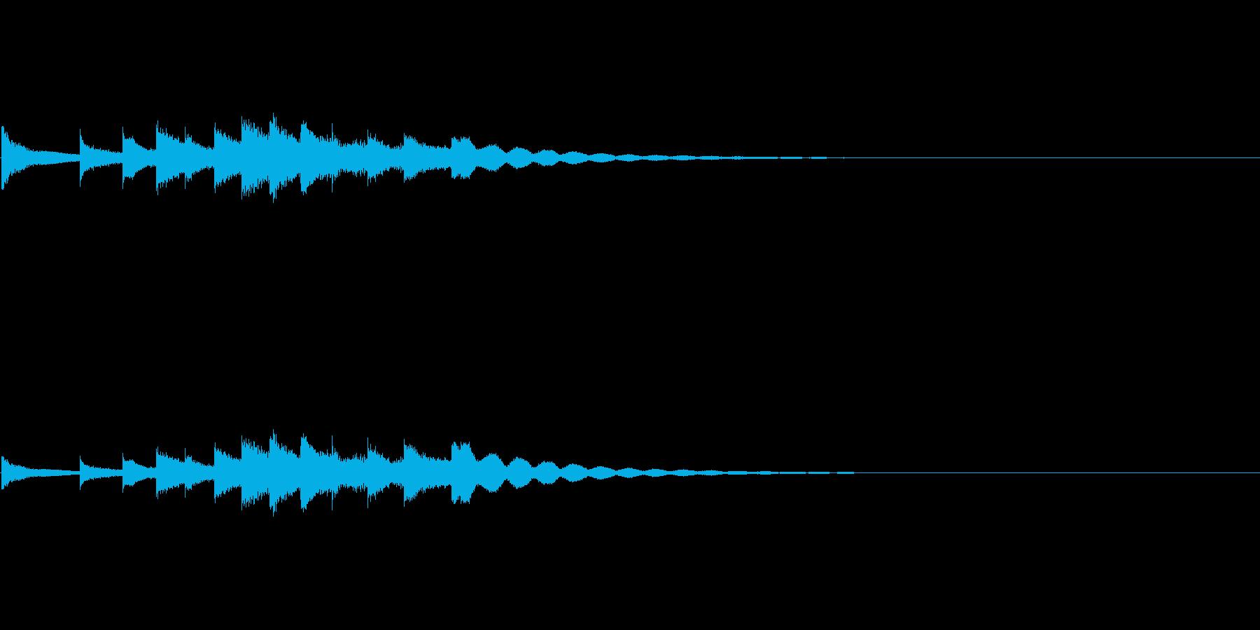Anime アニメ風キラキラSE 2の再生済みの波形