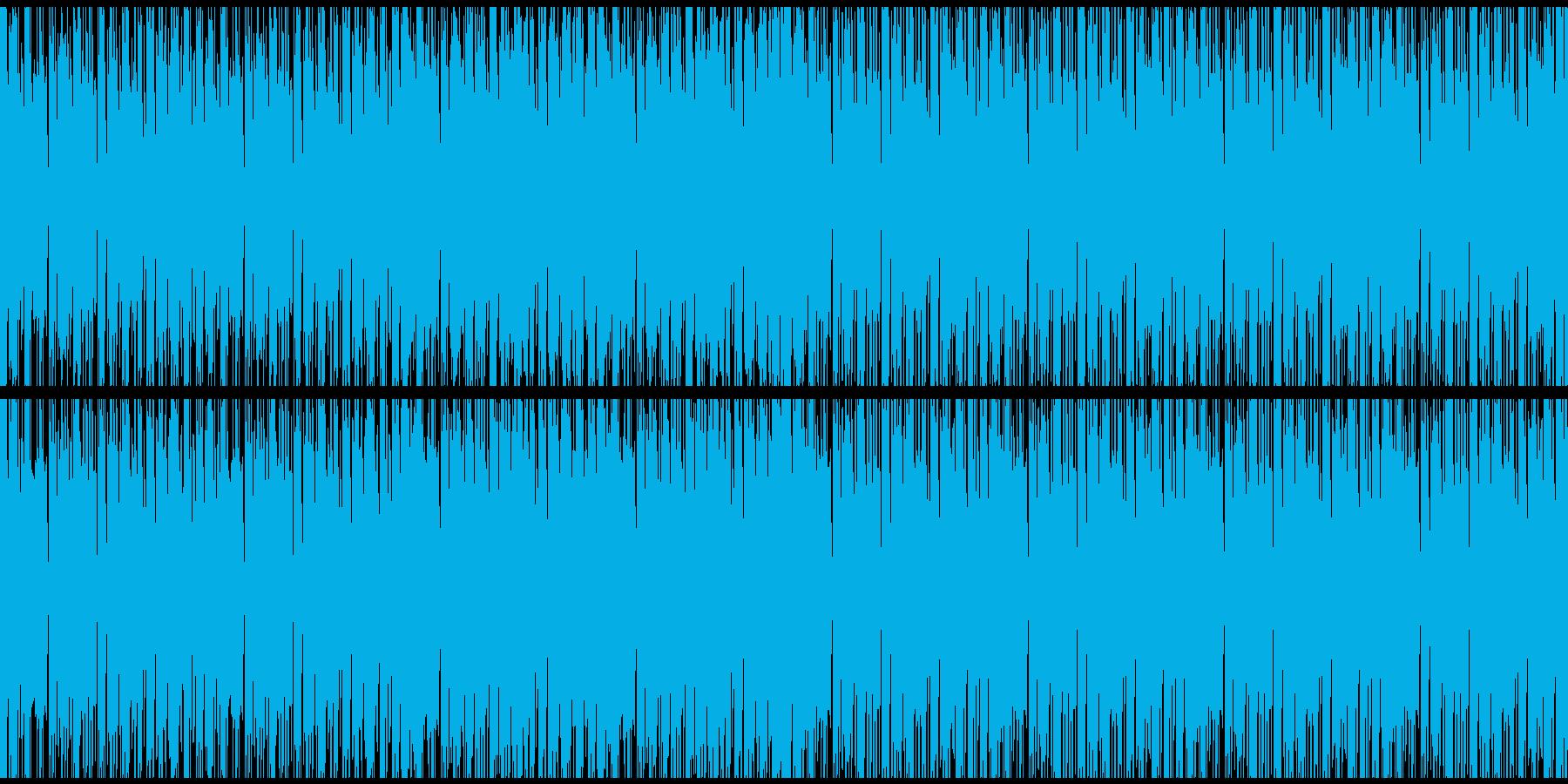 ファッション系に最適デジタル系ループの再生済みの波形