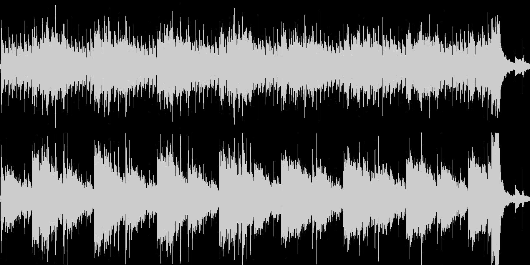 変わった雰囲気のアコギ曲の未再生の波形