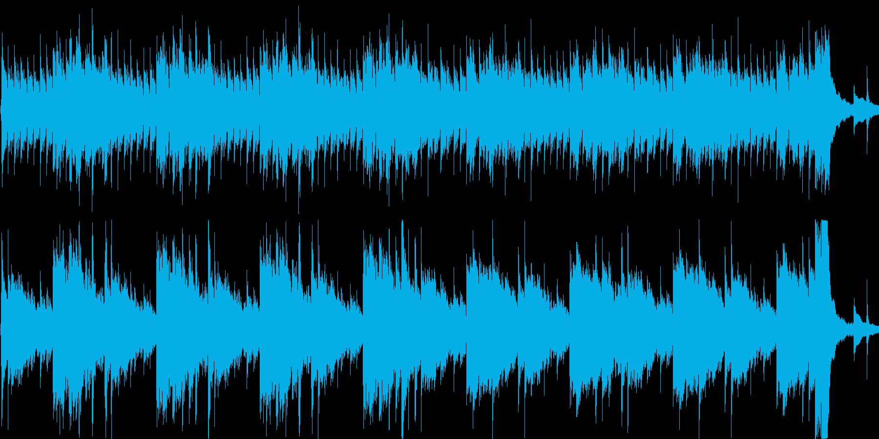 変わった雰囲気のアコギ曲の再生済みの波形