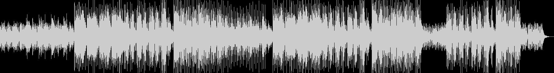 夜の洞窟をイメージした曲の未再生の波形
