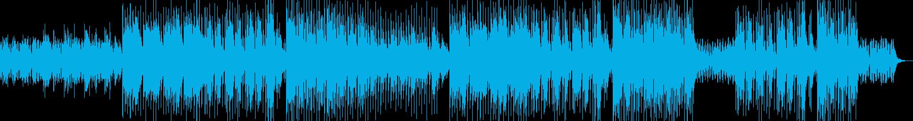 夜の洞窟をイメージした曲の再生済みの波形