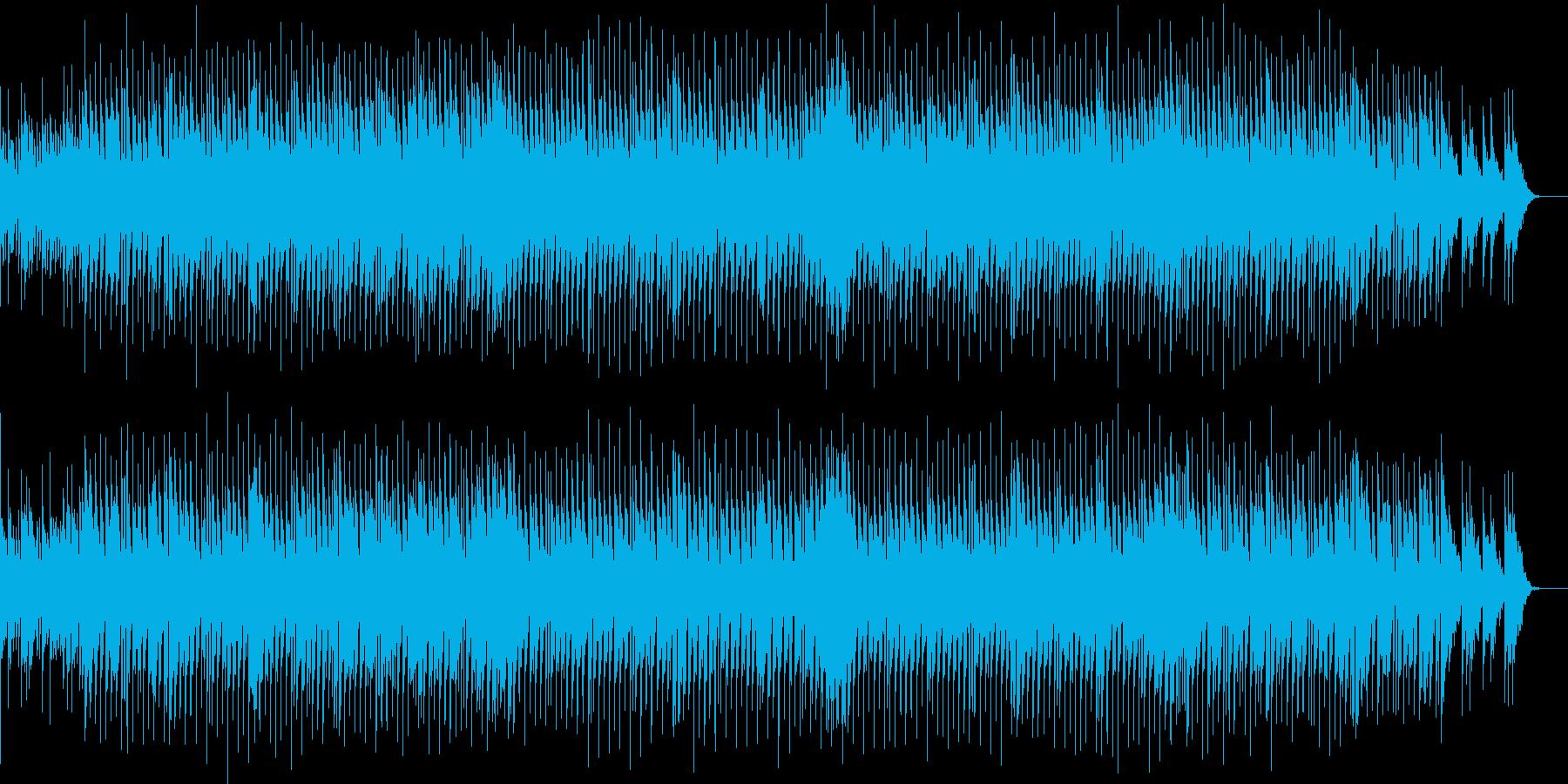 軽快なリズムと耳に残るフレーズのBGMの再生済みの波形
