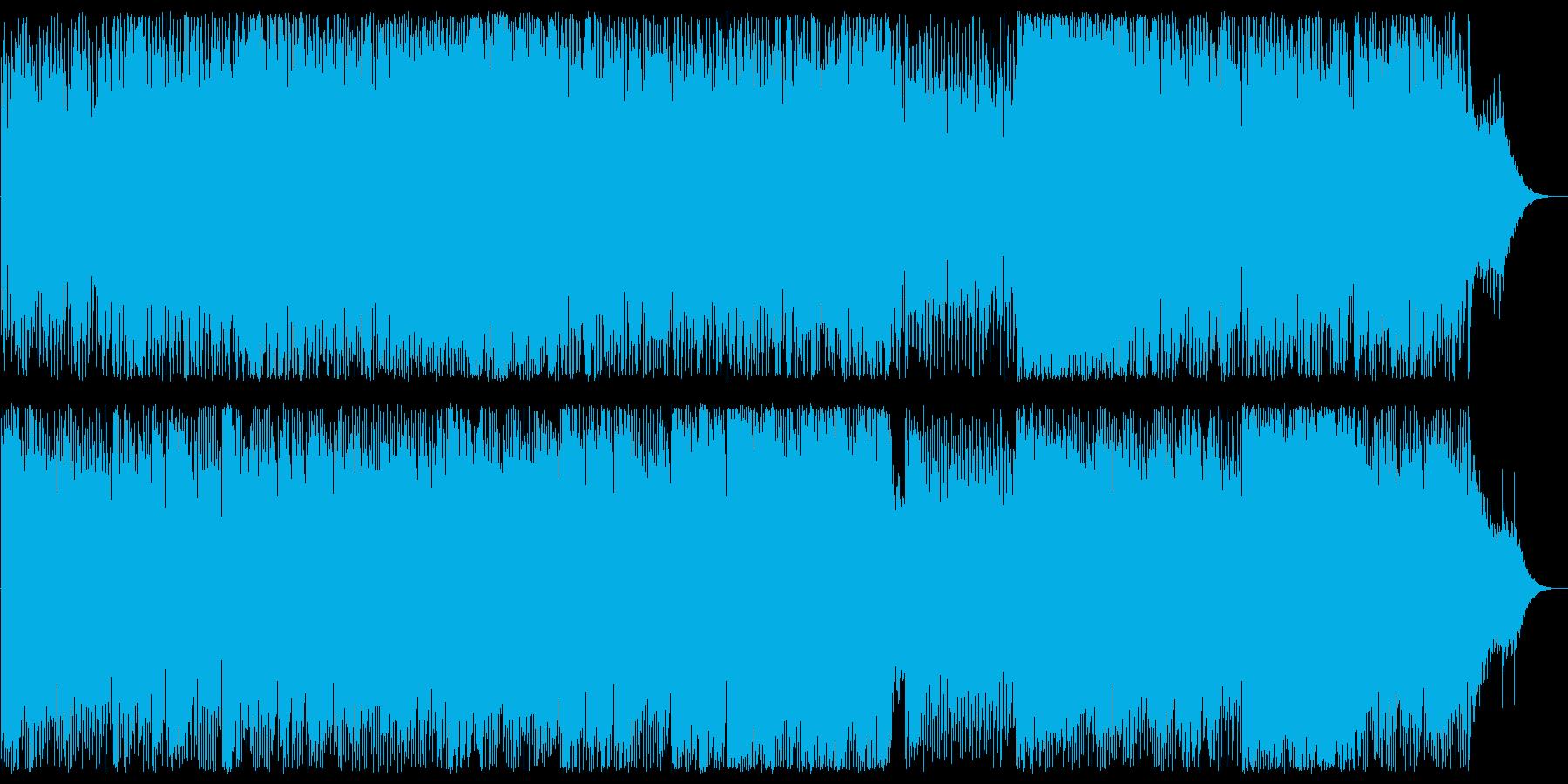 艶やかで軽快なテクノビートポップサウンドの再生済みの波形