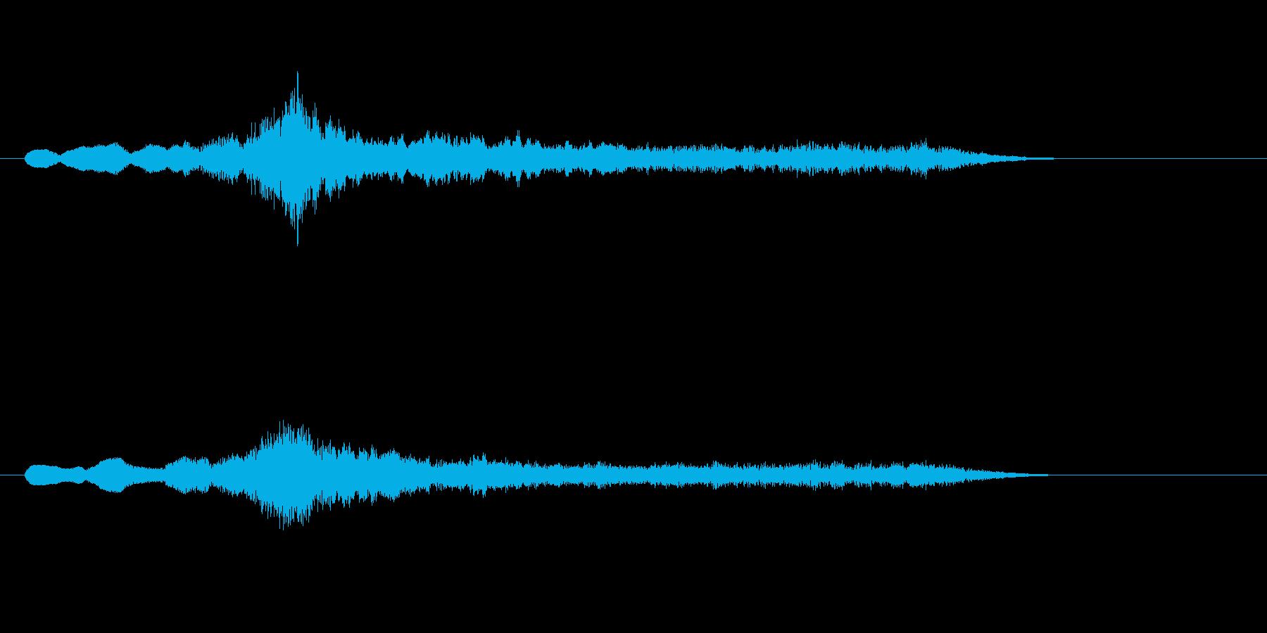 イントロダクション:ハリウッド風の再生済みの波形
