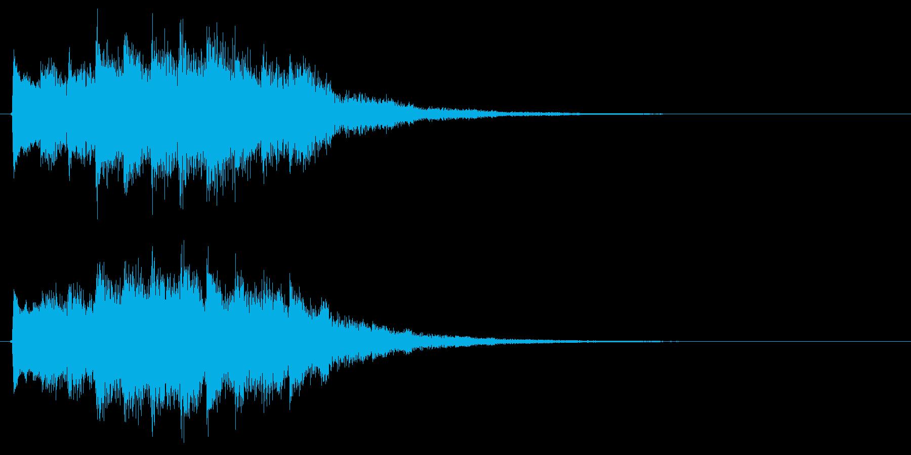 キラキラキラ…(ミステリアス、魔法詠唱)の再生済みの波形