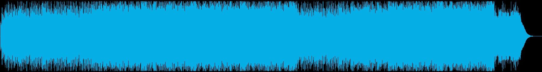 爽やかオープニング映像に スッキリ前向きの再生済みの波形