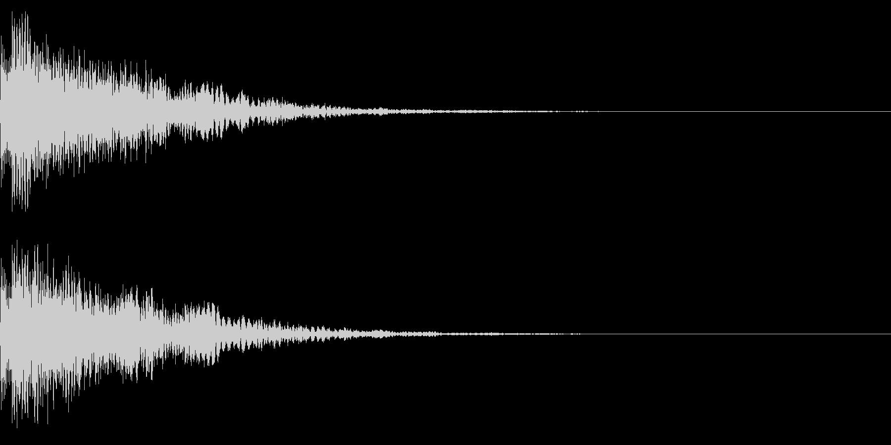 決定音45_シンセBの未再生の波形