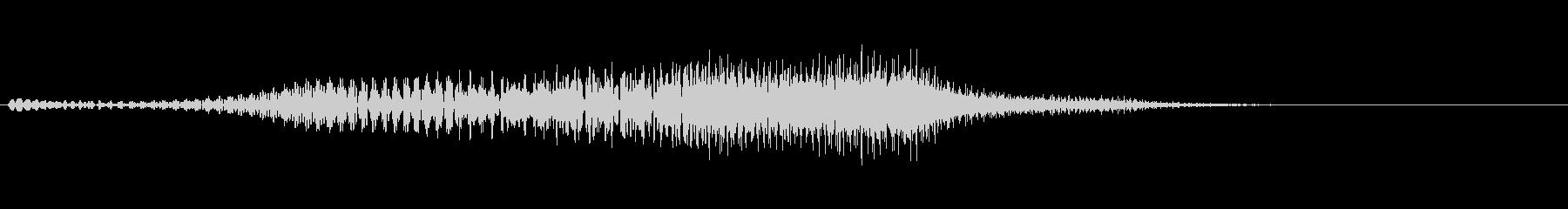【SE 効果音】SF的な音17の未再生の波形