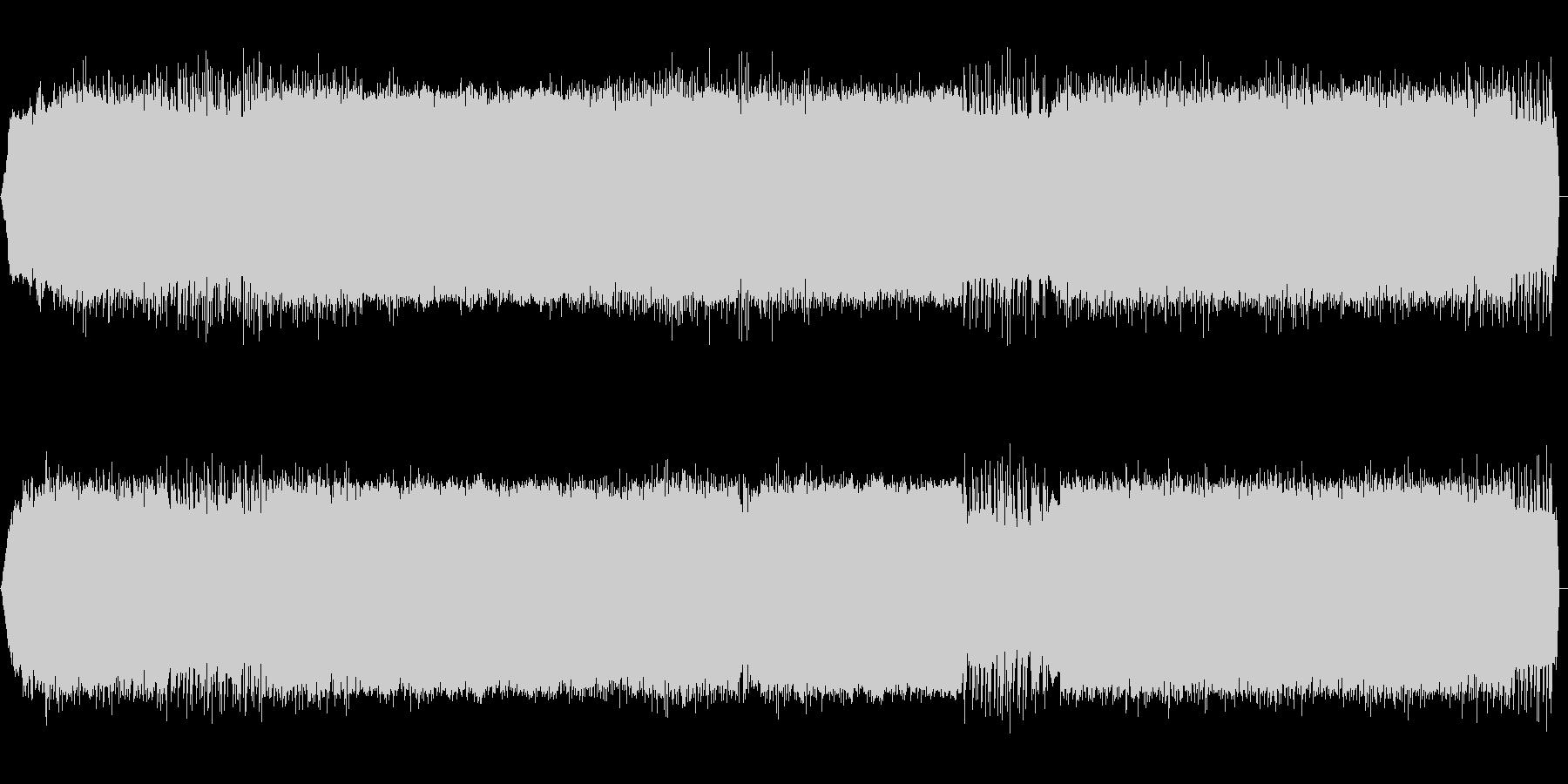 緊迫感のあるドラムンベースの未再生の波形
