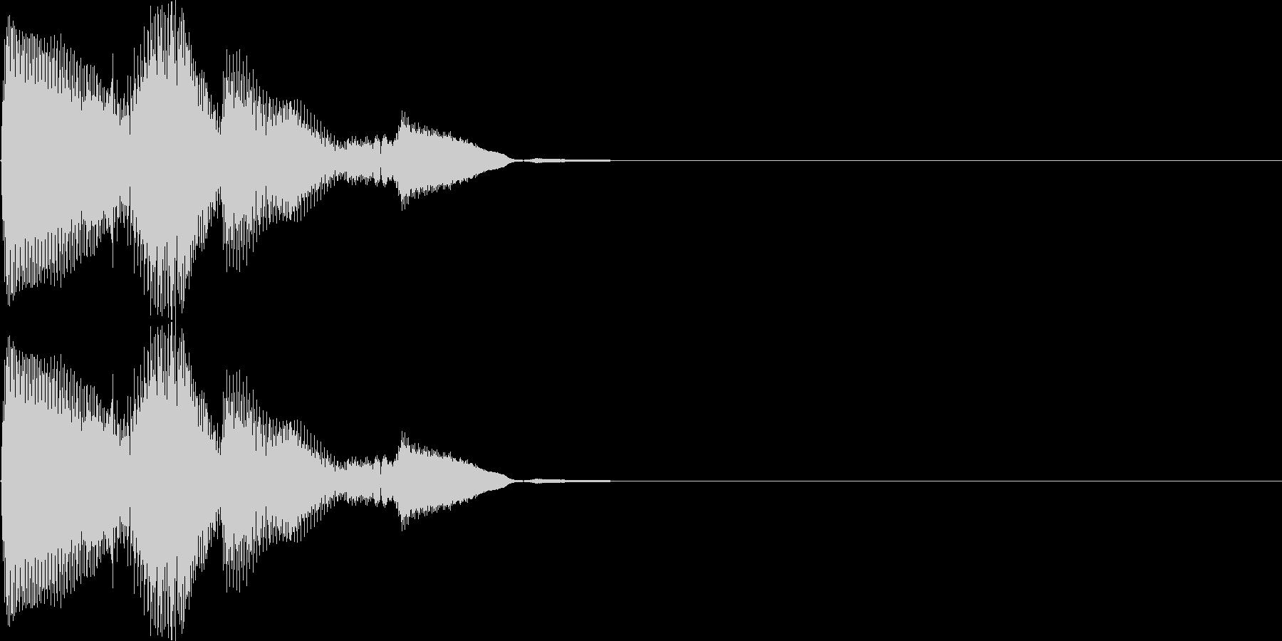 ピロリロン(決定、表示、ヒント、宝箱)の未再生の波形