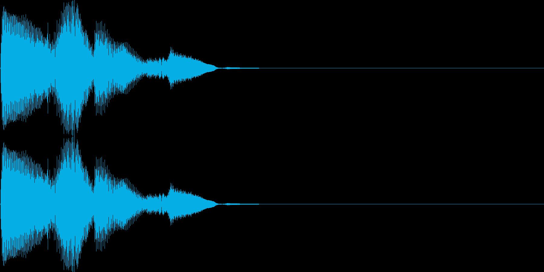 ピロリロン(決定、表示、ヒント、宝箱)の再生済みの波形