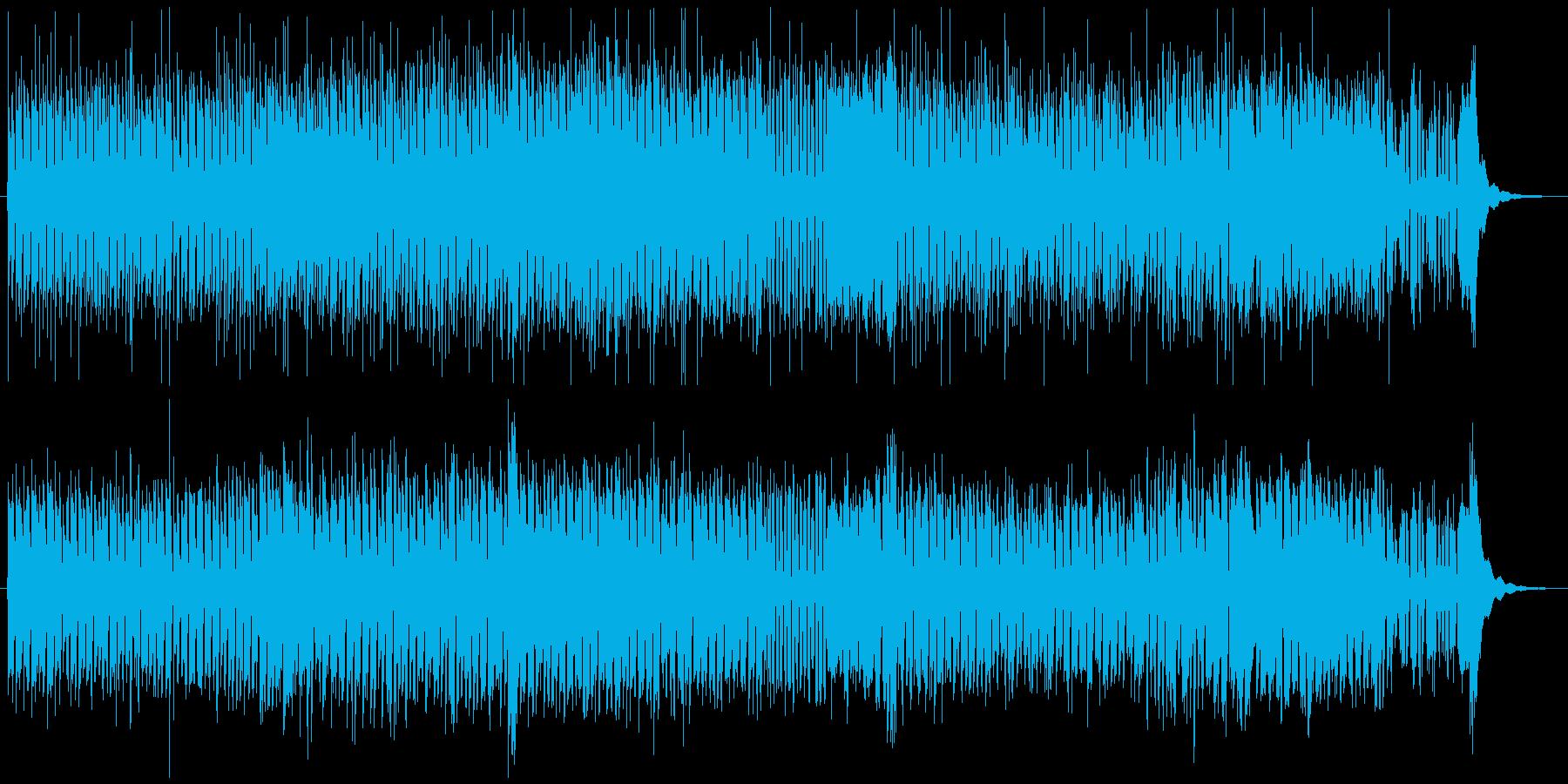 大慌て、チェイス、レースに使用できる曲の再生済みの波形