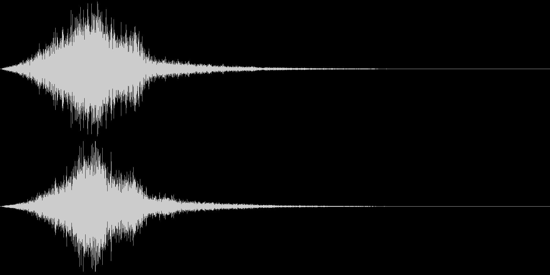 【SE 効果音】不気味な音9の未再生の波形