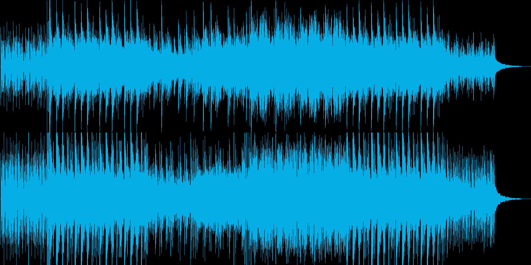 和風切ないピアノインストの再生済みの波形