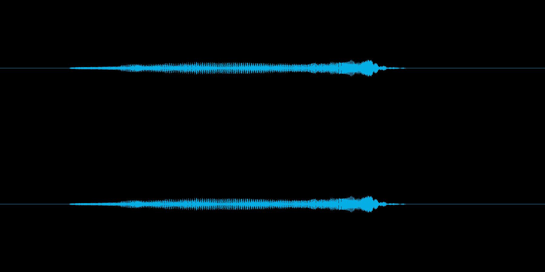 ニャー_猫声-18の再生済みの波形