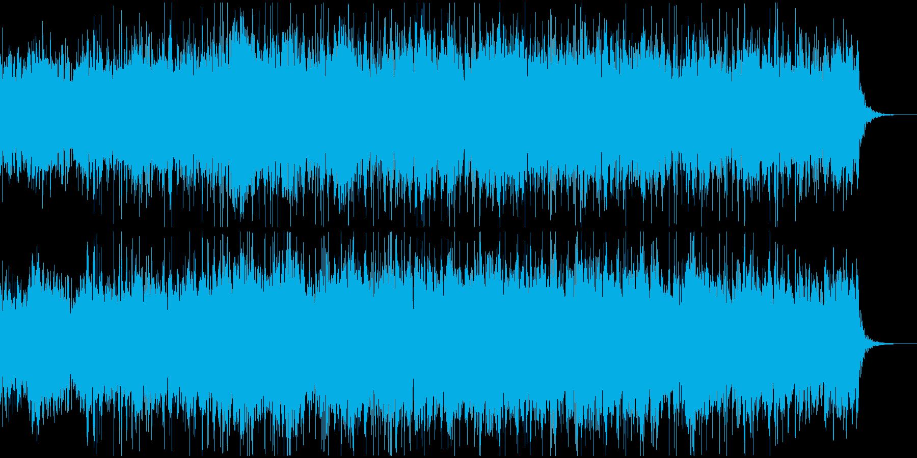 秋の風をイメージしたBGMの再生済みの波形