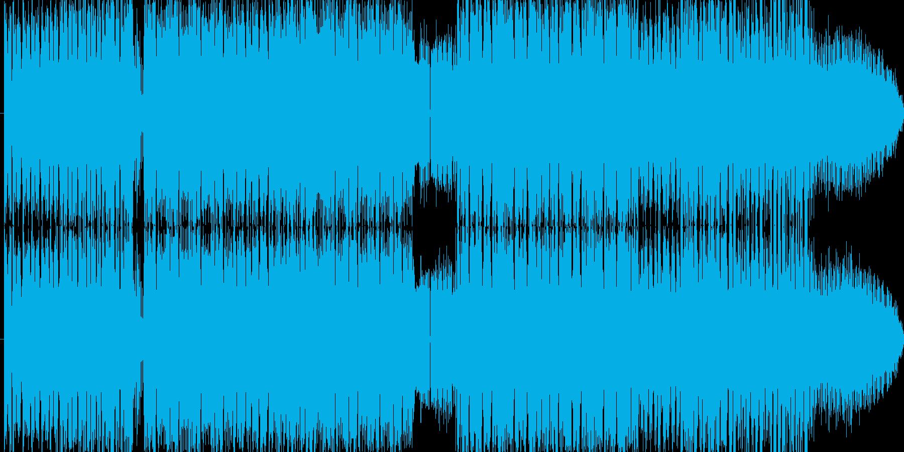 暗くて速くて幻想的な楽曲です!変拍子の再生済みの波形