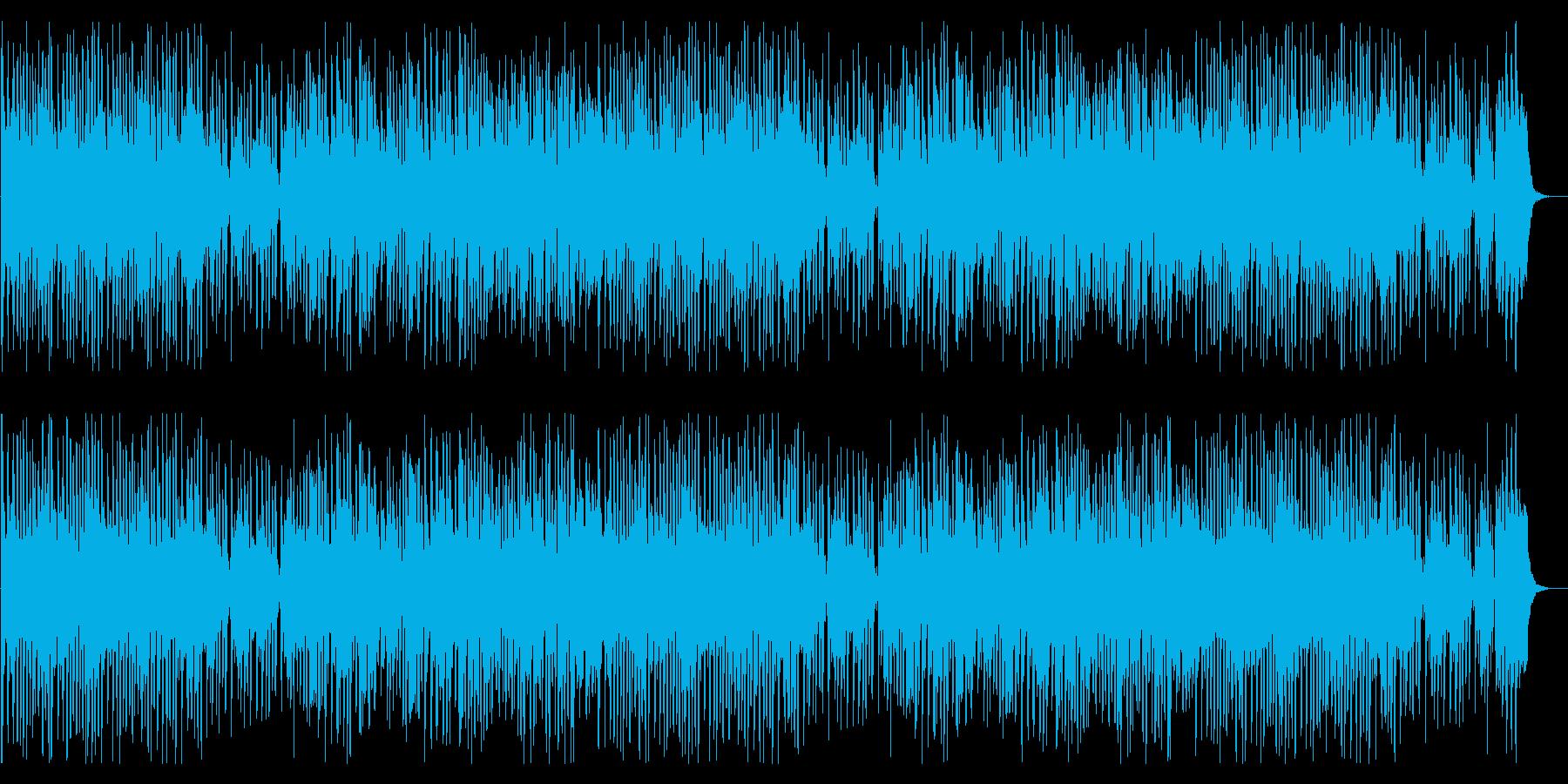 お買いものしたくなる音楽の再生済みの波形