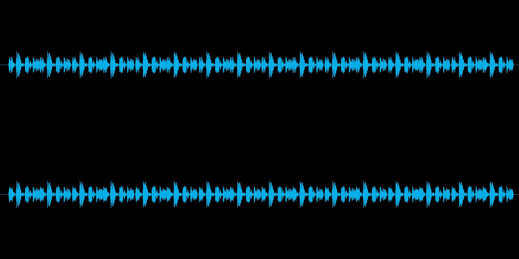 【慌てる05-3】の再生済みの波形