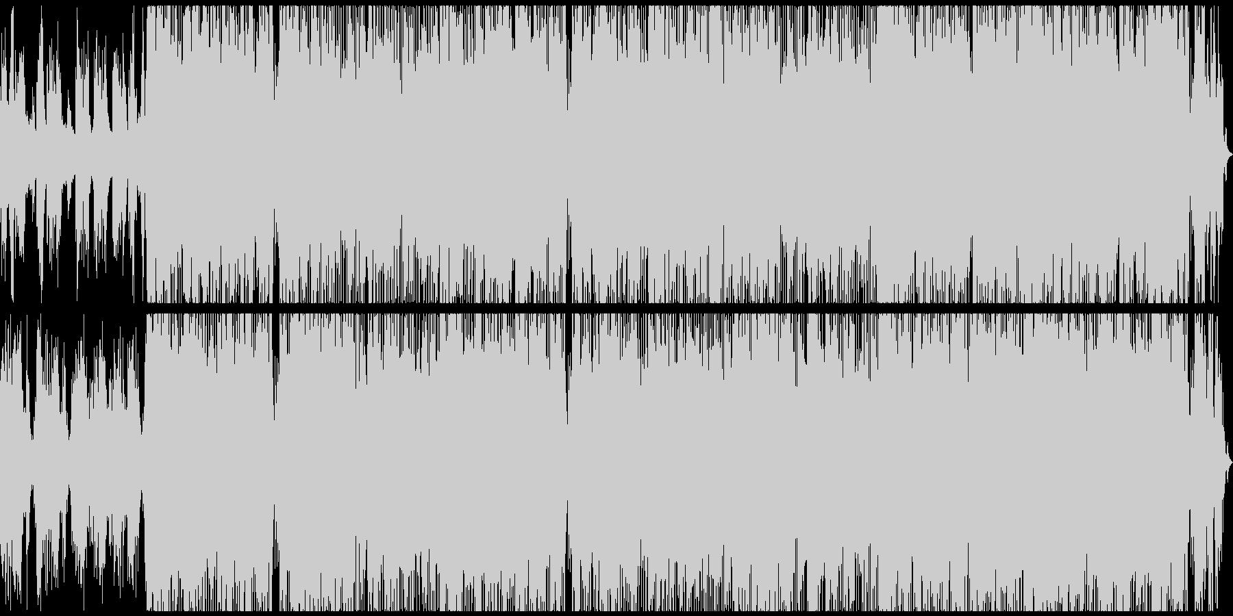 シタールとハープが春にピッタリのポップスの未再生の波形
