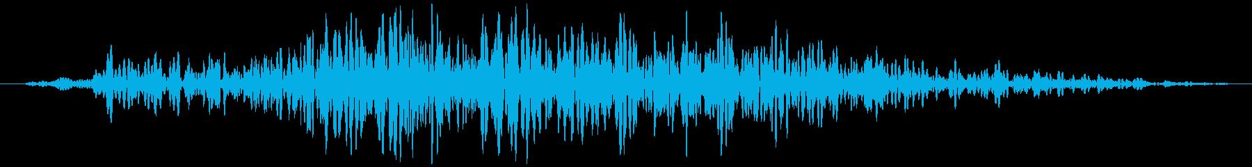 引き戸(木製、短め)ガラーッ…の再生済みの波形