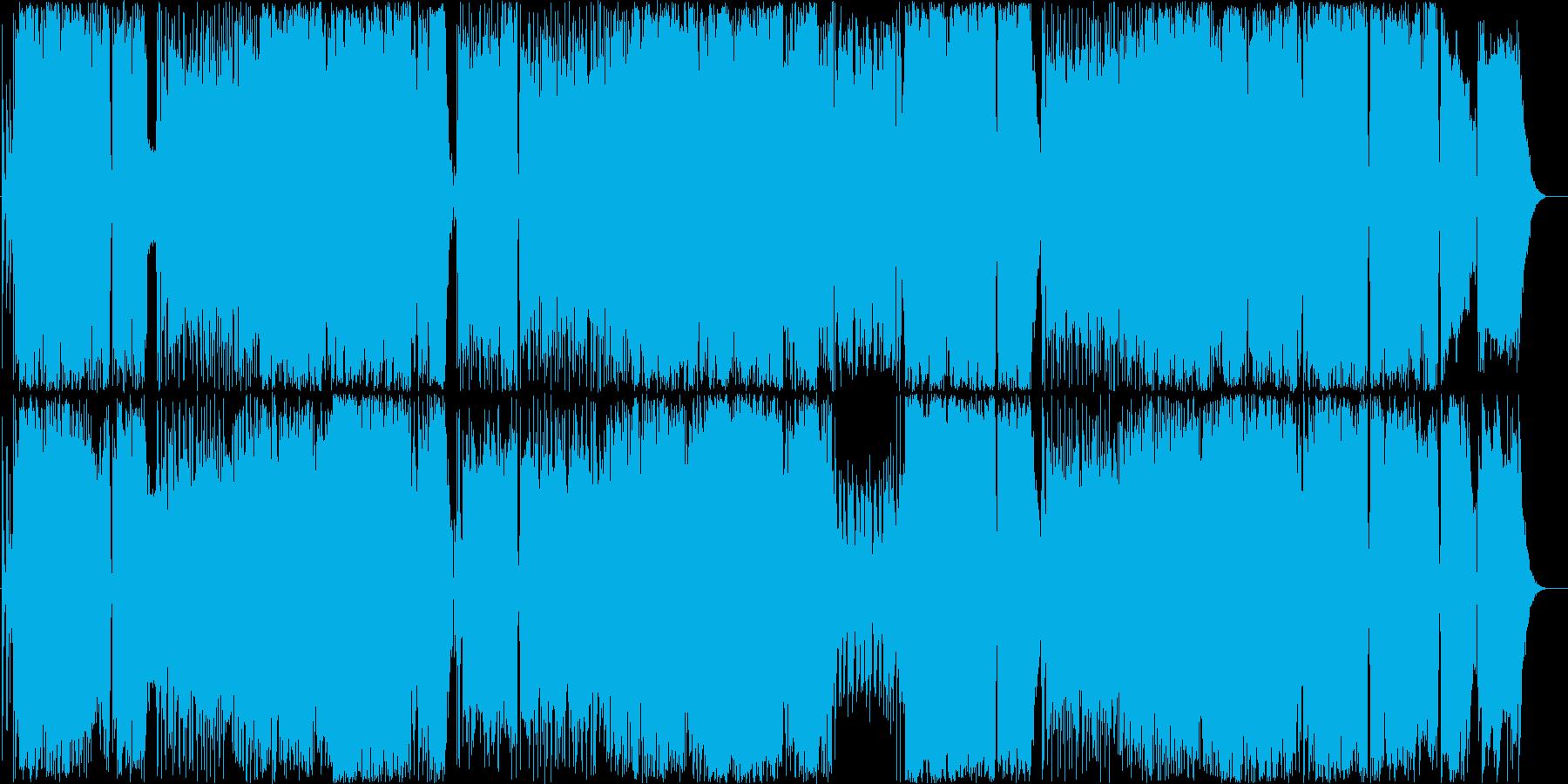 演歌調Rockです の再生済みの波形