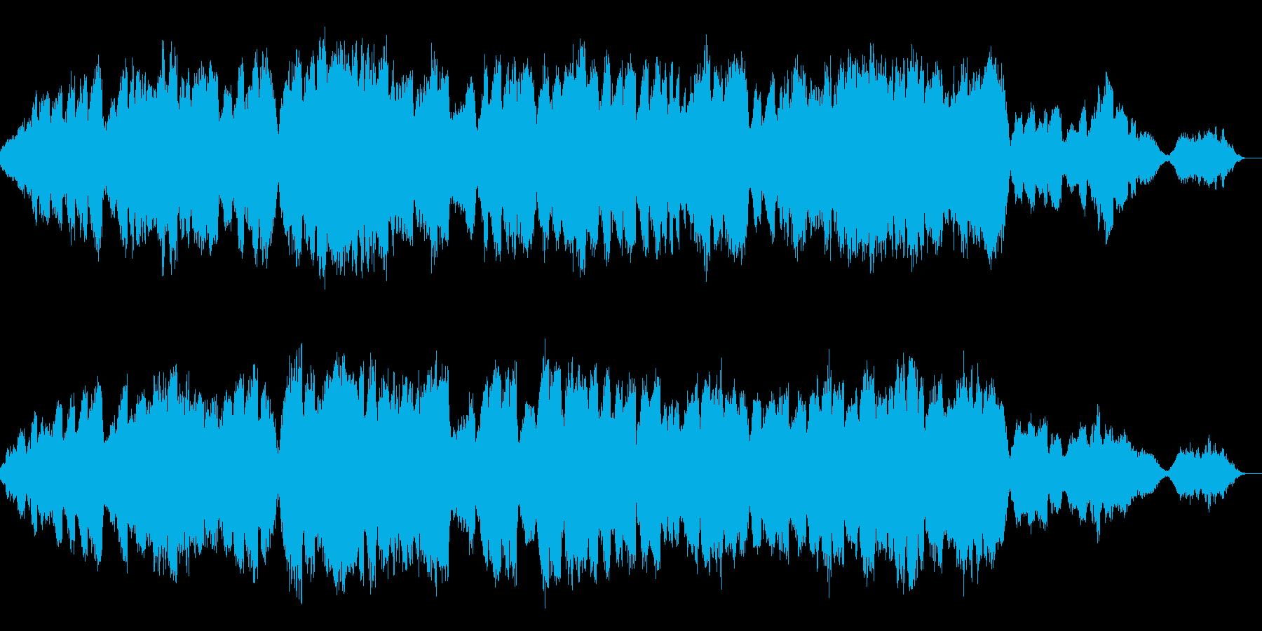 終わりから新しい始まりに バロック風弦楽の再生済みの波形