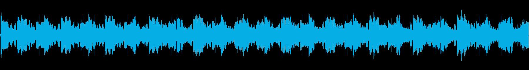 様々なシーンを想定した約30秒の曲です。の再生済みの波形