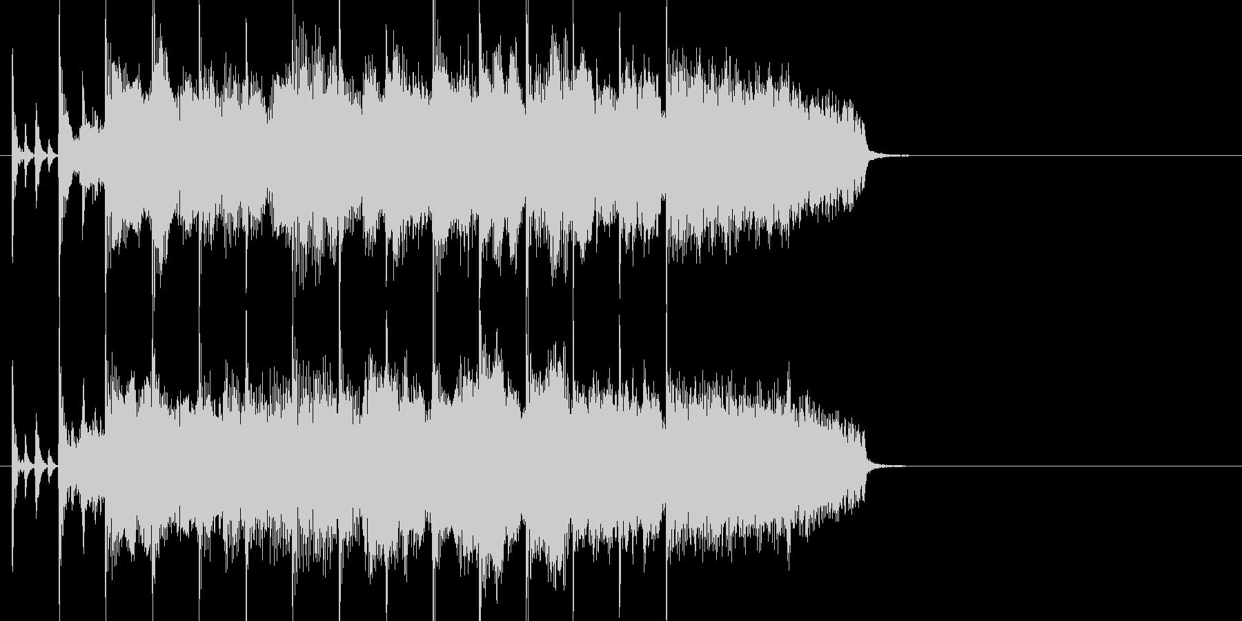 オーケストラ楽器が壮大な感動系ジングルの未再生の波形