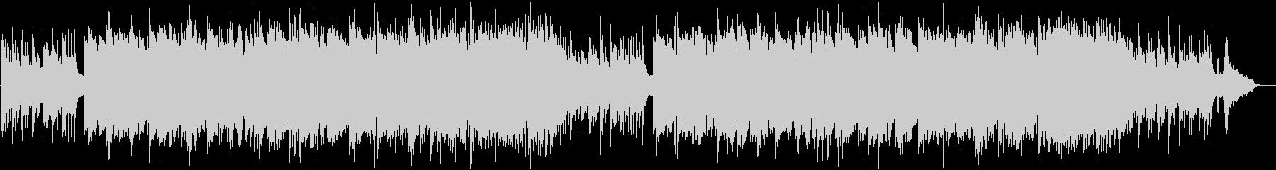 メロウで澄み渡るイメージのBGMの未再生の波形