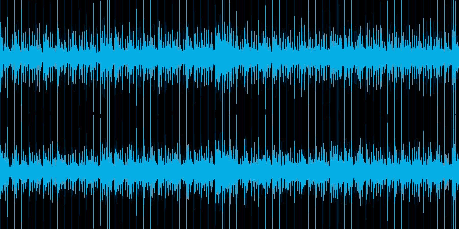 少し和風で幻想的なインストの再生済みの波形