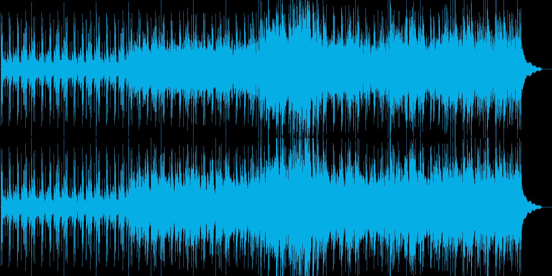 インド音楽の再生済みの波形