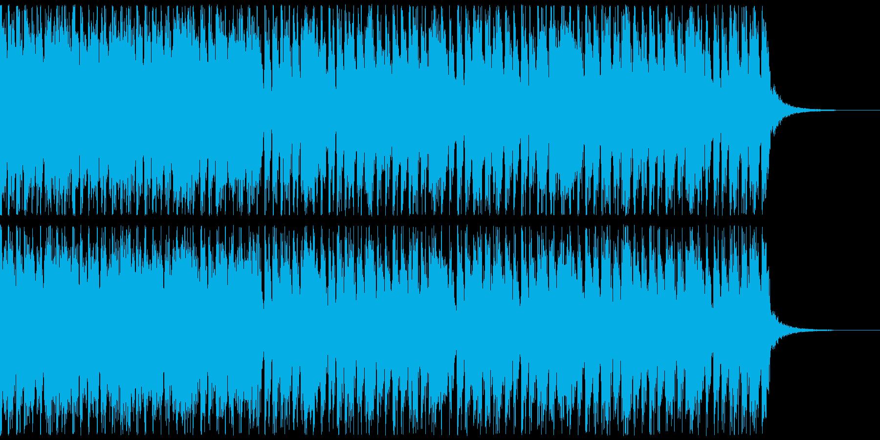 ノリノリ!アイドルロック風、走る躍る!Aの再生済みの波形