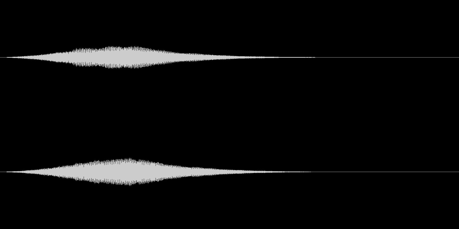 オーブの光る音/共鳴反応/魔法SE2の未再生の波形