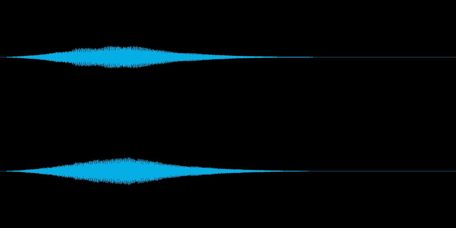 オーブの光る音/共鳴反応/魔法SE2の再生済みの波形