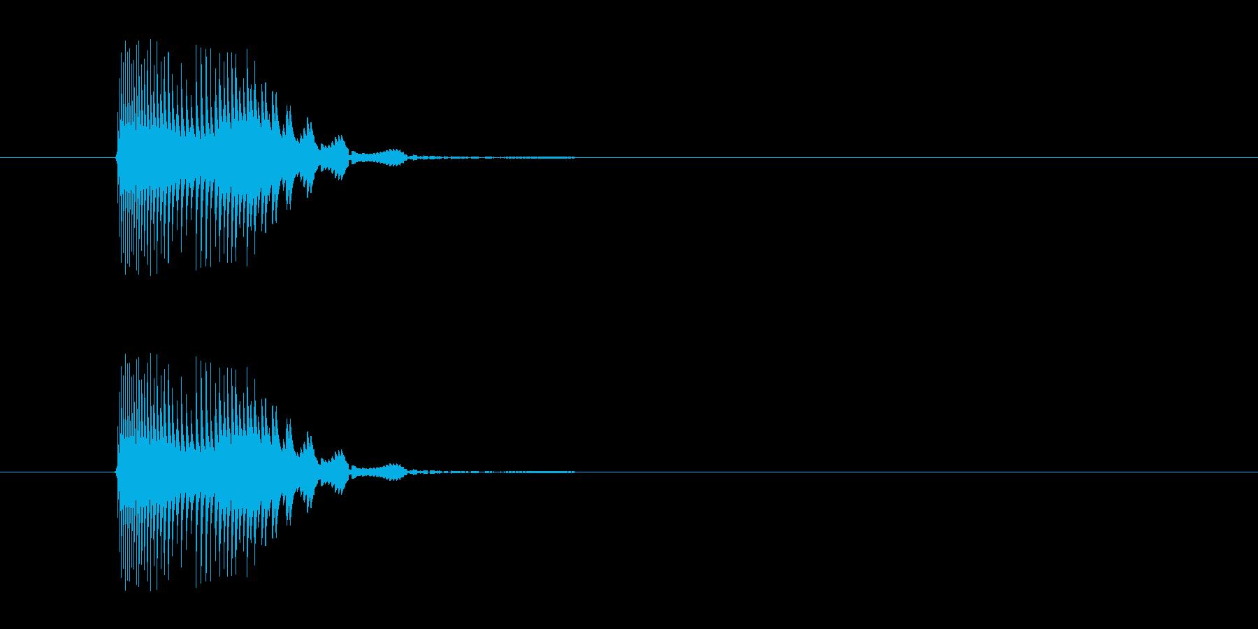 かわいいジャンプ_m0237の再生済みの波形