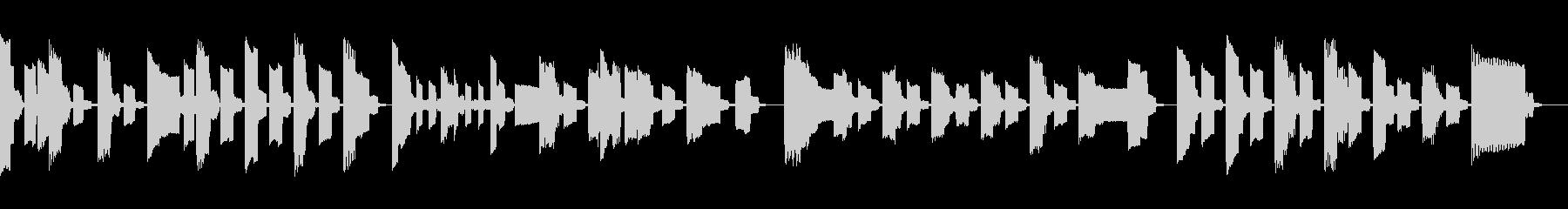 ファミコンサウンドでサウンドでほのぼのの未再生の波形