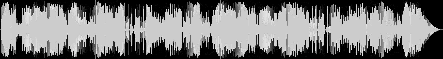 リコーダーやピアニカを使った可愛い曲の未再生の波形