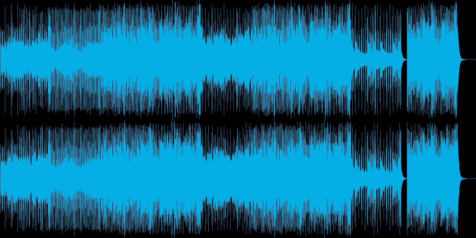 ストリングス/ヒップホップ/動画向き#2の再生済みの波形